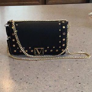 Victoria's Secret Gold Studded Crossbody Bag